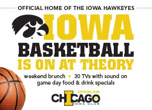 Iowa basketball Chicago sports bar