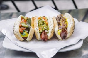 chicago hot dog stand